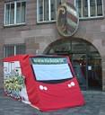 Sozialticket-U-Bahn: Haltestelle Nürnberger Rathaus