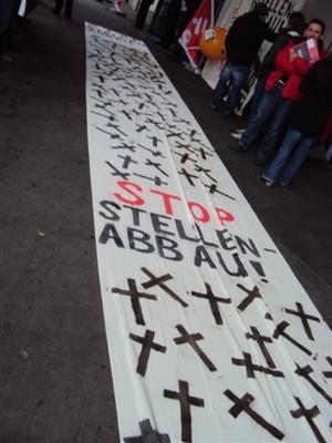 Fotos von der Aktion an der GV (29.3.10) - 01