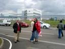 Fotos von Streik und Blockade in Hünigen (31.5.10) 1