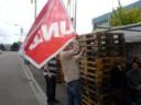 Fotos von Streik und Blockade in Hünigen (31.5.10) 2