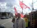 Fotos von Streik und Blockade in Hünigen (31.5.10) 3