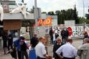 Fotos von Streik und Blockade in Hünigen (31.5.10) 5