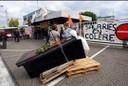 Fotos von Streik und Blockade in Hünigen (31.5.10) 6