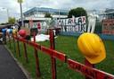 Fotos von Streik und Blockade in Hünigen (31.5.10) 7