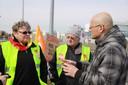 Fotos vom Streik in Hüningen ab 25.2.10 - 8