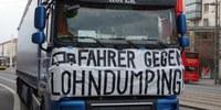 Fernfahrerproteste in Europa