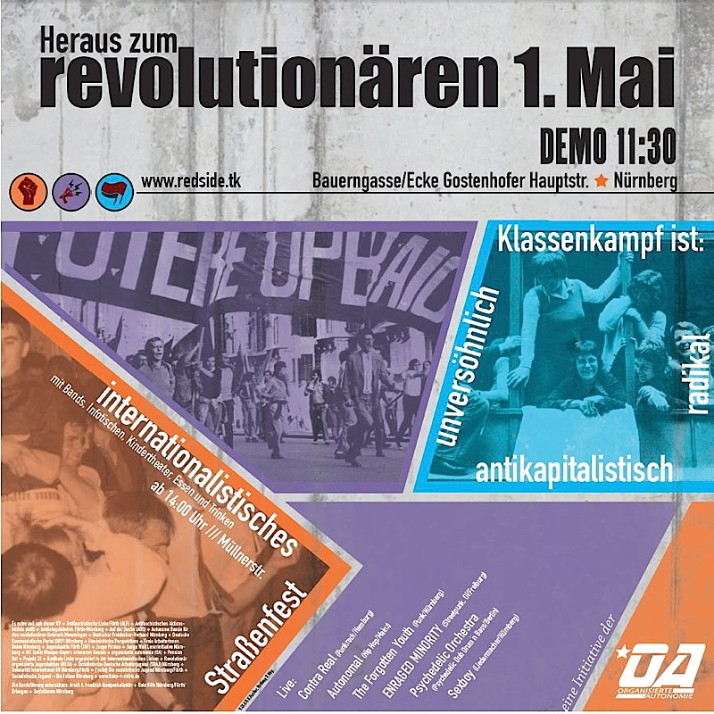 Heraus zum revolutionären 1. Mai 2015 in Nürnberg!