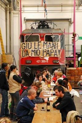 Streik in der Offincine Bellinzona