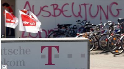 Telekom Ausbeutung 2007