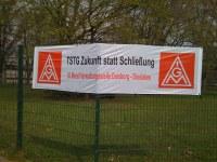 TSTG: Betriebsrat erläutert Strategie gegen Voestalpine