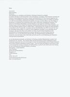 Appell der Stadt Duisburg für den Erhalt des Werkes